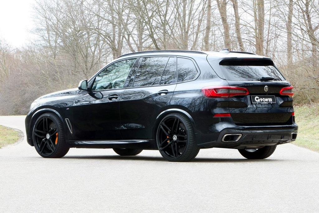 """Специалисты G-Power добавили """"лошадок"""" дизельному BMW X5 M50d"""