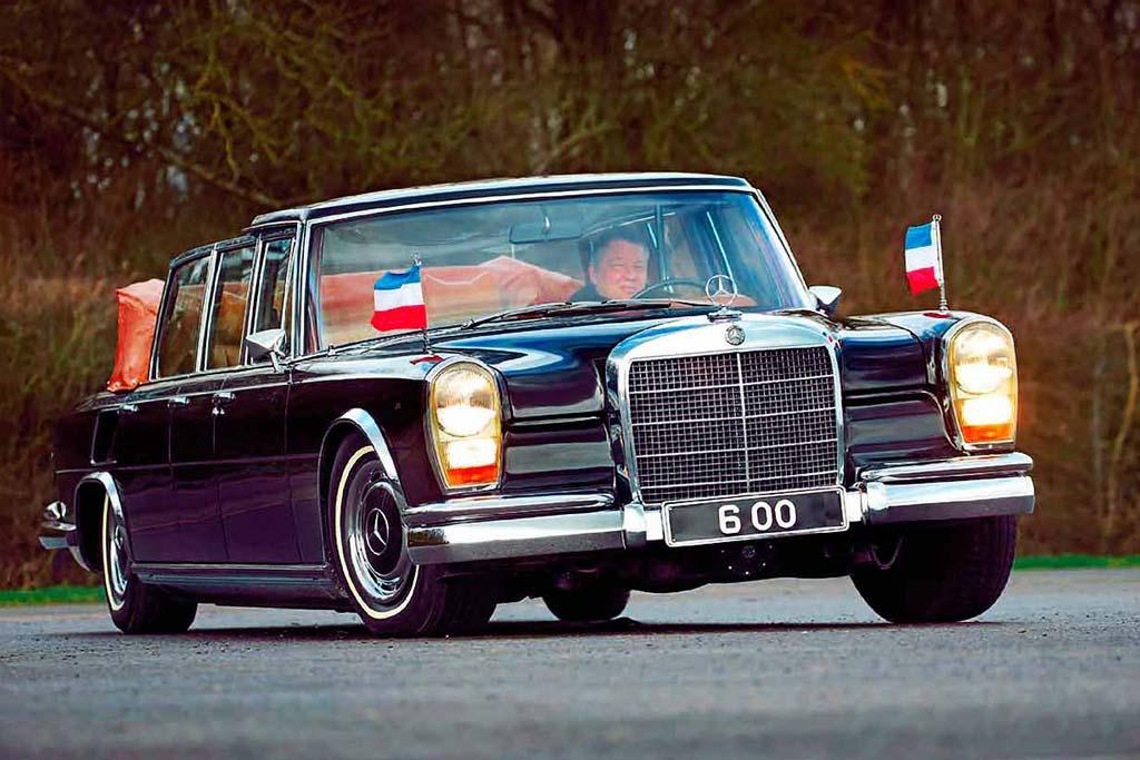 Редкий лимузин Mercedes-Benz за 3 млн. евро: сегодня таких не делают