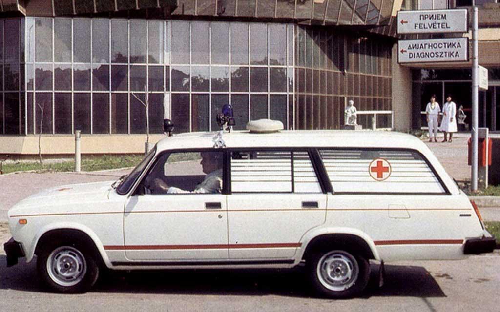 ВАЗ-2104 скорая помощь