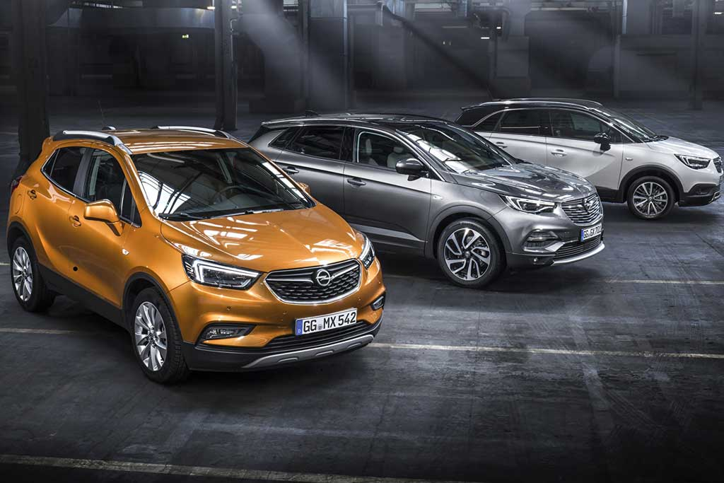 Кроссоверы Opel