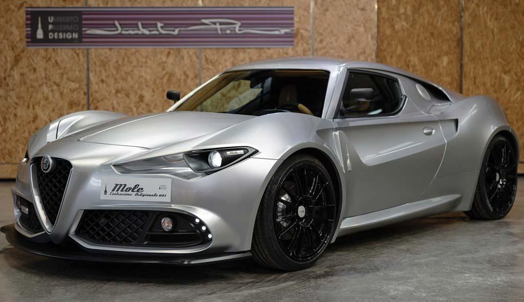 Необычный проект на базе Alfa 4С попробуют продать на аукционе